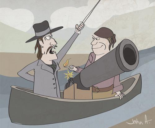 cannon-canoe